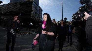 Prosecutor Carmel Barbagallo arrives on Thursday morning.