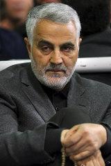 Assassinated: Commander of Iran's Quds Force, Qassem Soleimani.