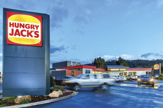Hungry Jack's has around 440 stores across the country and revenues of over $1.5 billion.