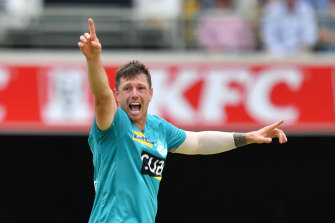 James Pattinson is weighing up a return to one of the Melbourne Big Bash teams next season.