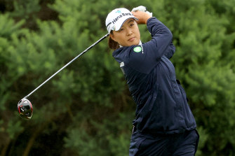 It was an up and down day for Minjee Lee in the opening round of the Women's British Open.
