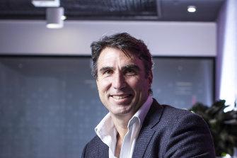 MYOB chief executive Greg Ellis has secured a partnership with fintech Valiant.