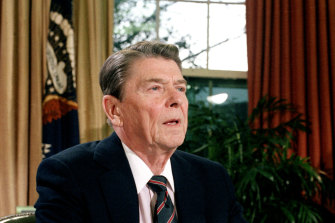 US President Ronald Reagan was mindful of the 25th Amendment's provisions when he had to go into surgery.