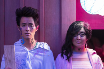 Christopher Larkin (Raven) and Ashley Park Ani) are part of the host of new characters.