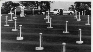 Dundas Drive in, January 1987.