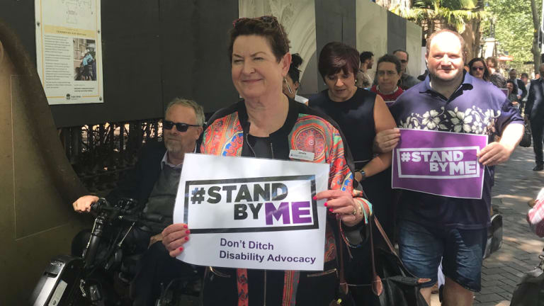 Disability advocates across NSW are urging the Berejiklian government to keep funding disability services.