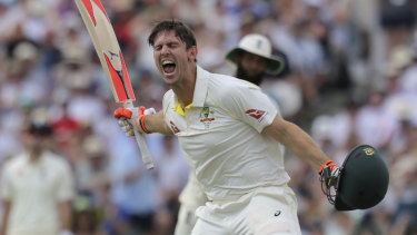 Leadership material: Mitchell Marsh is the favourite to be Australia's Test vice-captain.