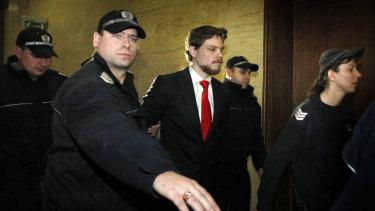 Australian citizen Jock Palfreeman, pictured in 2011, remains in limbo in Bulgaria.