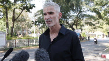 """""""We feel as though football hasn't done enough"""": Former Socceroo Craig Foster."""