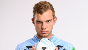 Sidelined: Tom Trbojevic won't be back in time for the Origin opener.