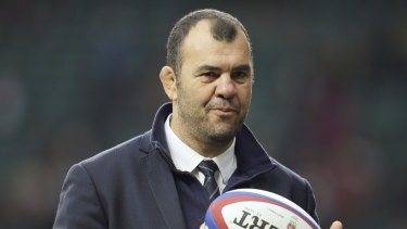 Quiet approach: Michael Cheika.