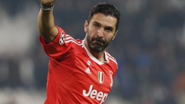 Moving on  Gianluigi Buffon has found a new club after leaving Juventus. 547e6fc2d