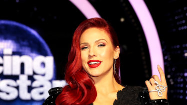 Sharna Burgess.