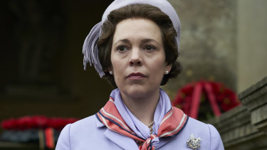 Olivia Coleman, The Crown, season 3.