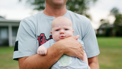 Close to a breakdown, John found solace in a fathers' group