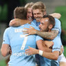 City set to lock in finals berth after thumping Brisbane Roar