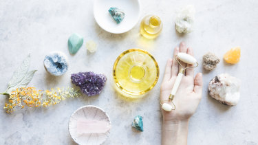 """Dr Nikki Stamp: """"If people forgo proven treatments in favour of crystals, that is potentially problematic and harmful."""""""
