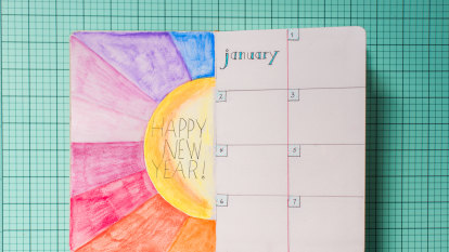 Already broken your New Year's resolution? Choose a word instead