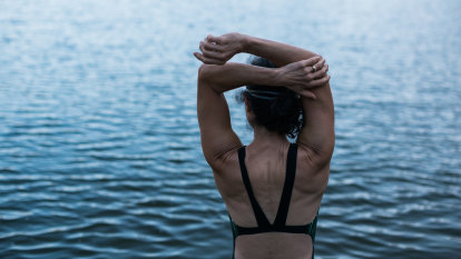 The summer after my husband died, I learnt to swim. I was 56