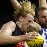 Blues drop Murphy, Bombers defender Francis to take short mental health break