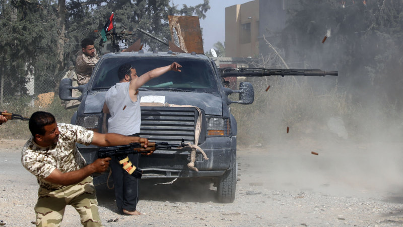 World leaders meet for UN-led talks in bid to solve Libya conflict