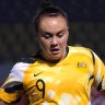 Matildas star Foord to be quarantined from Arsenal teammates