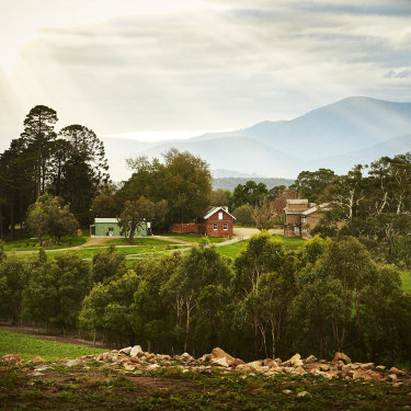 Yeringberg in the Yarra Valley, Victoria.