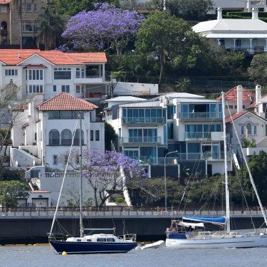 Properties on the north shore of the Brisbane River are some of the most sought-after in Brisbane.
