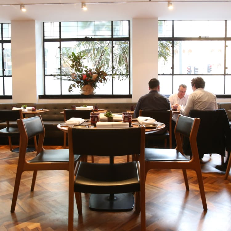 The Bridge Room at Circular Quay, co-owned by the Fink Group and Ross Lusted.