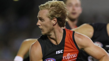 Darcy Parish couldn't squeeze into Essendon's line-up.