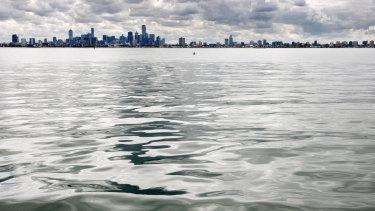 Port Phillip Bay.