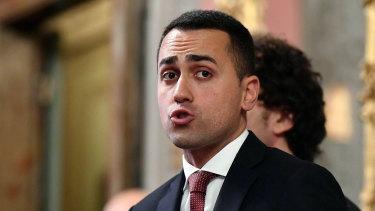 Leader of the Five-Star Movement Luigi Di Maio says Berlusconi's re-entry to politics 'makes no difference'.