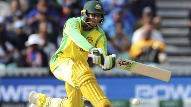 Usman Khawaja is having trouble as he drops down the order.