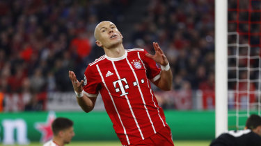 Unhappy hunting: Arjen Robben says Anfield has bad memories for him over the course of his career.