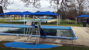 The Eureka pool in Ballarat.