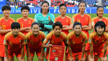 The Chinese national women's football team remains isolated in the Westin Brisbane hotel.