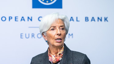 Christine Lagarde, the ECB's president, has signalled that the bank will step up pandemic quantitative easing if necessary.