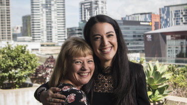 CBA Teaching Awards recipients Chantel Mirzai and Monica St Baker are honoured to be recognised for their hard work but say they have a strong team of staff behind them.