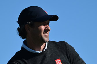 Adam Scott had a wild third round at the Famers Insurance Open.