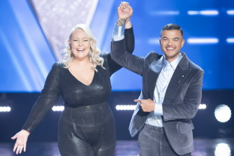 Bella Taylor Smith, coached by Guy Sebastian, is crowned the winner of The Voice Australia 2021.