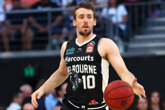 Mitch McCarron is one of two Melbourne United players to have tested positive for coronavirus.