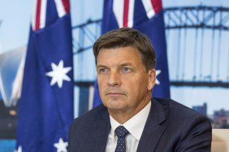 Energy and Emissions Reduction Minister Angus Taylor says new gas infrastructure is needed to prevent supply shortfalls for industry and households.