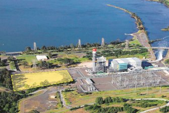 The Tallawarra B plant will sit next to EnergyAustralia's existing power station in NSW.
