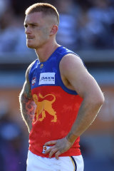 Unhappy Lion? Dayne Beams
