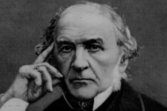 Prime Minister William Gladstone.