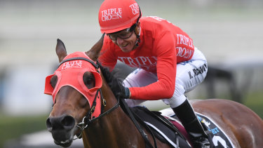 Kerrin McEvoy and Redzel will team up again chasing a three-peat in the world's richest race on turf.