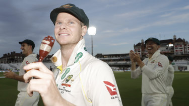 Leading man: Steve Smith was the difference between the two sides in the Ashes – and his return to the captaincy appears inevitable, says Ricky Ponting.