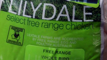 Lilydale free-range chicken costs at least double non free-range meat.