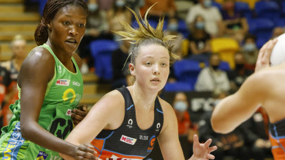 Giants beat Fever to set up all-Sydney grand final