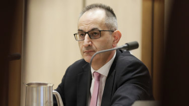 Michael Pezzullo, secretary of the Department of Home Affairs.